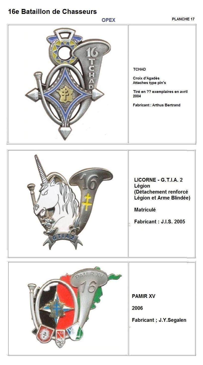 Les insignes de bataillons- Mise à jour... - Page 2 16e_pl25