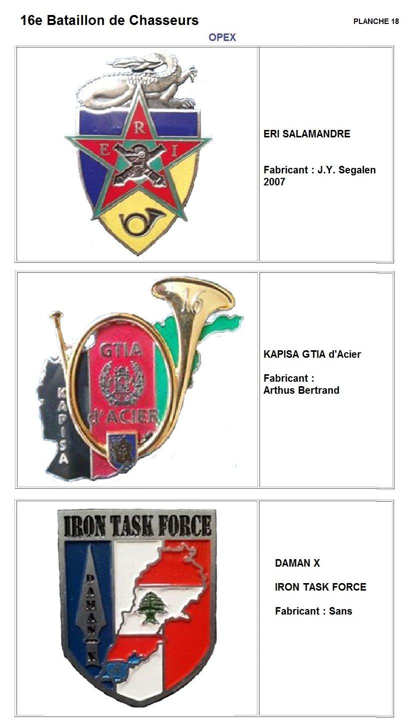 Les insignes de bataillons- Mise à jour... - Page 2 16e_pl26