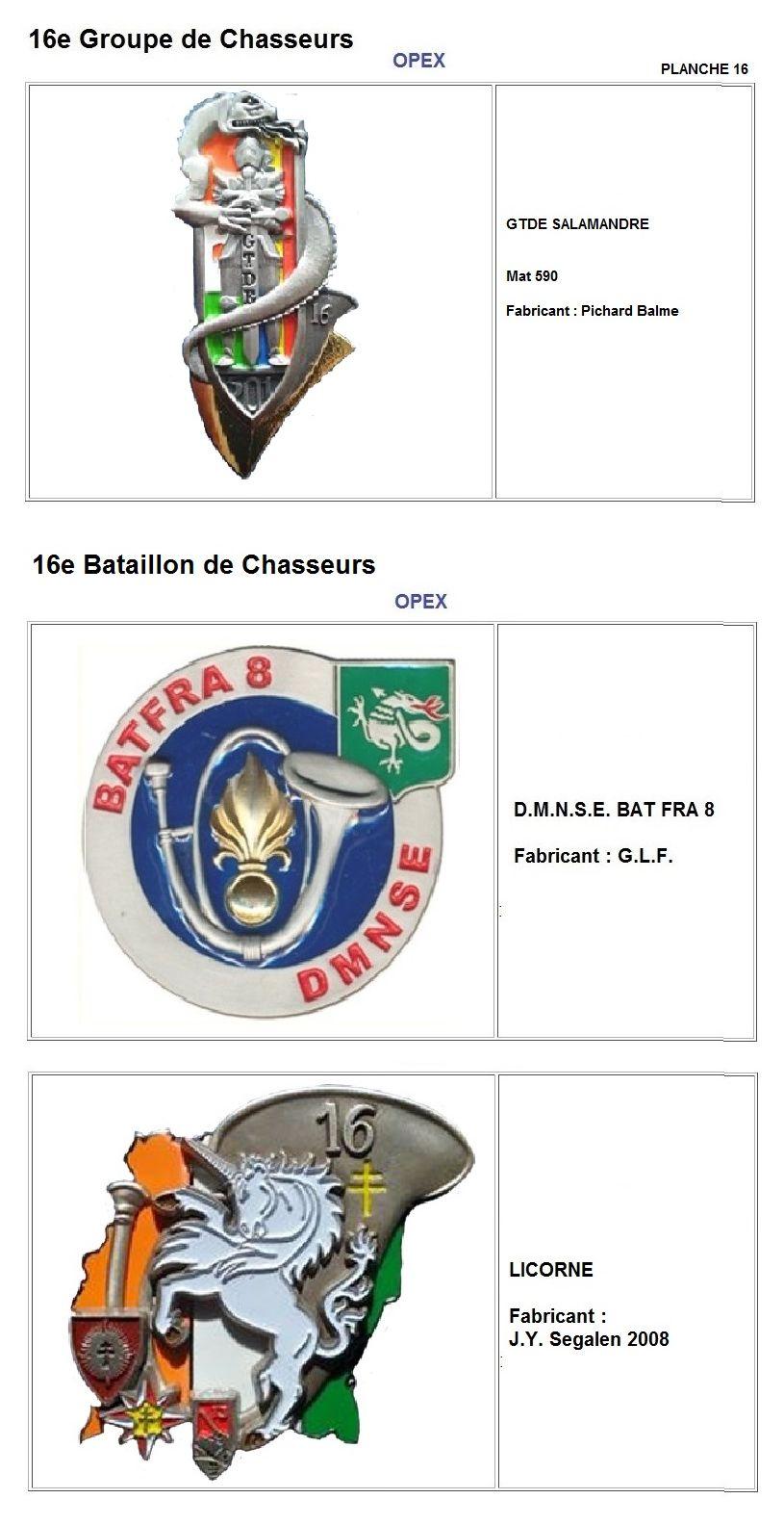 Les insignes de bataillons- Mise à jour... - Page 2 16e_pl27