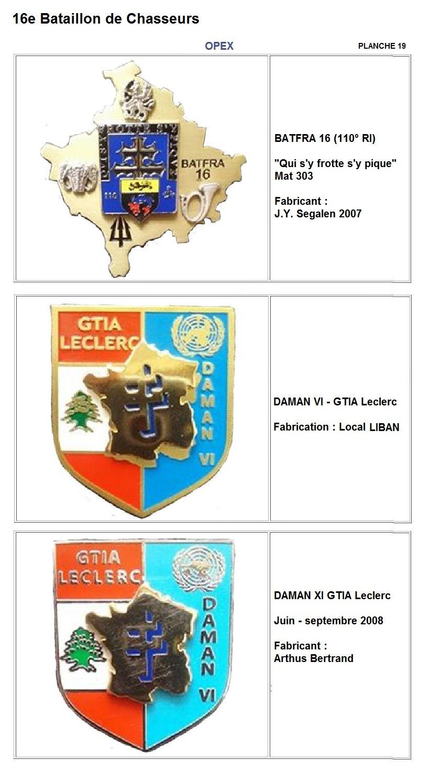 Les insignes de bataillons- Mise à jour... - Page 2 16e_pl28