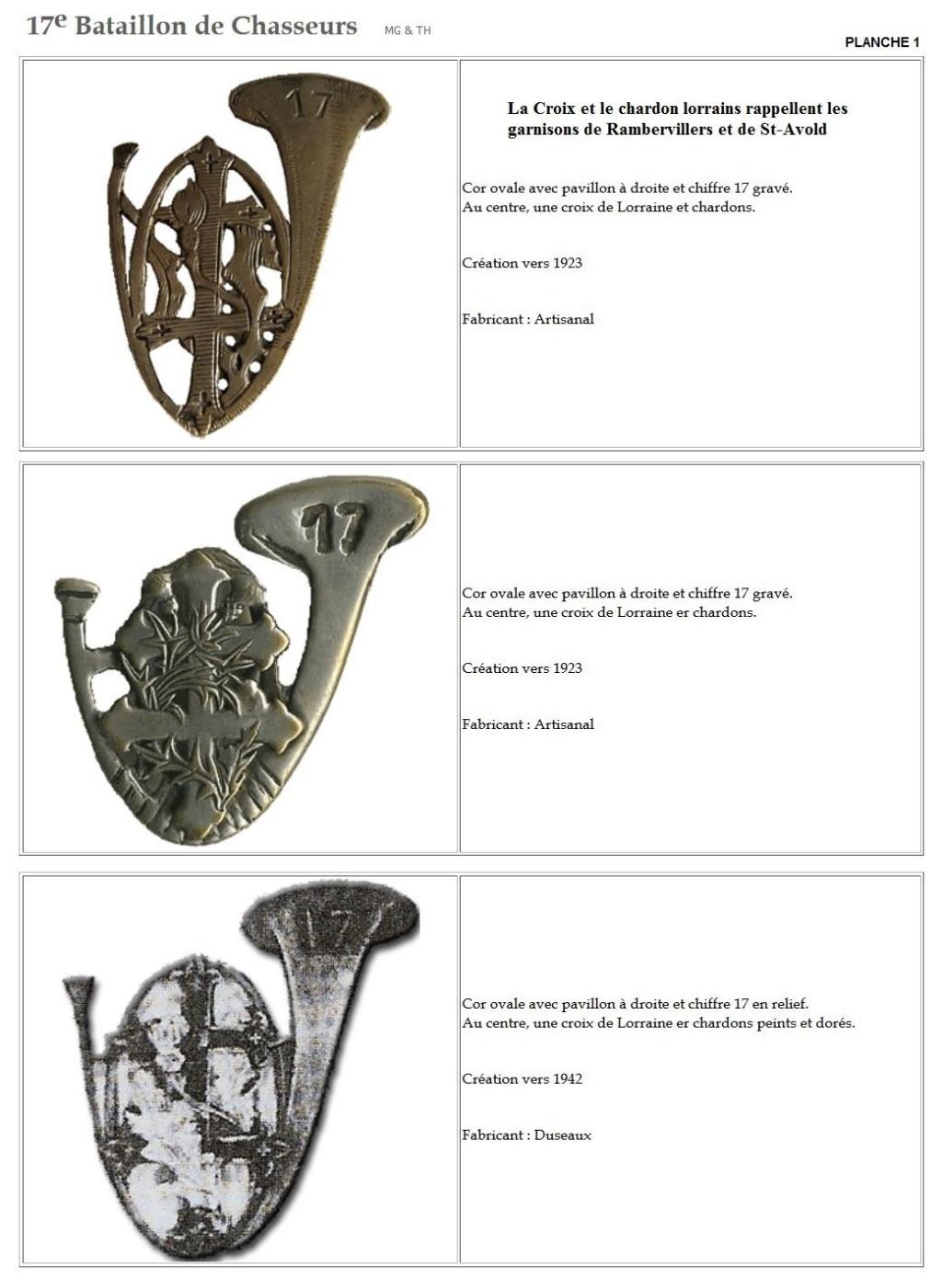 Les insignes de bataillons- Mise à jour... - Page 2 17e_pl10