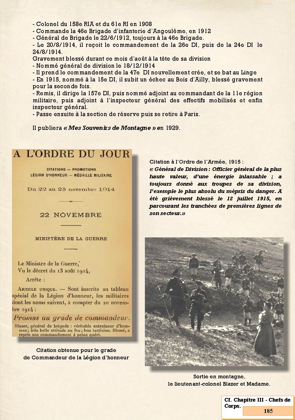 L'Historique du 14e Bataillon de Chasseurs. 1854 - 1962 185_pa10