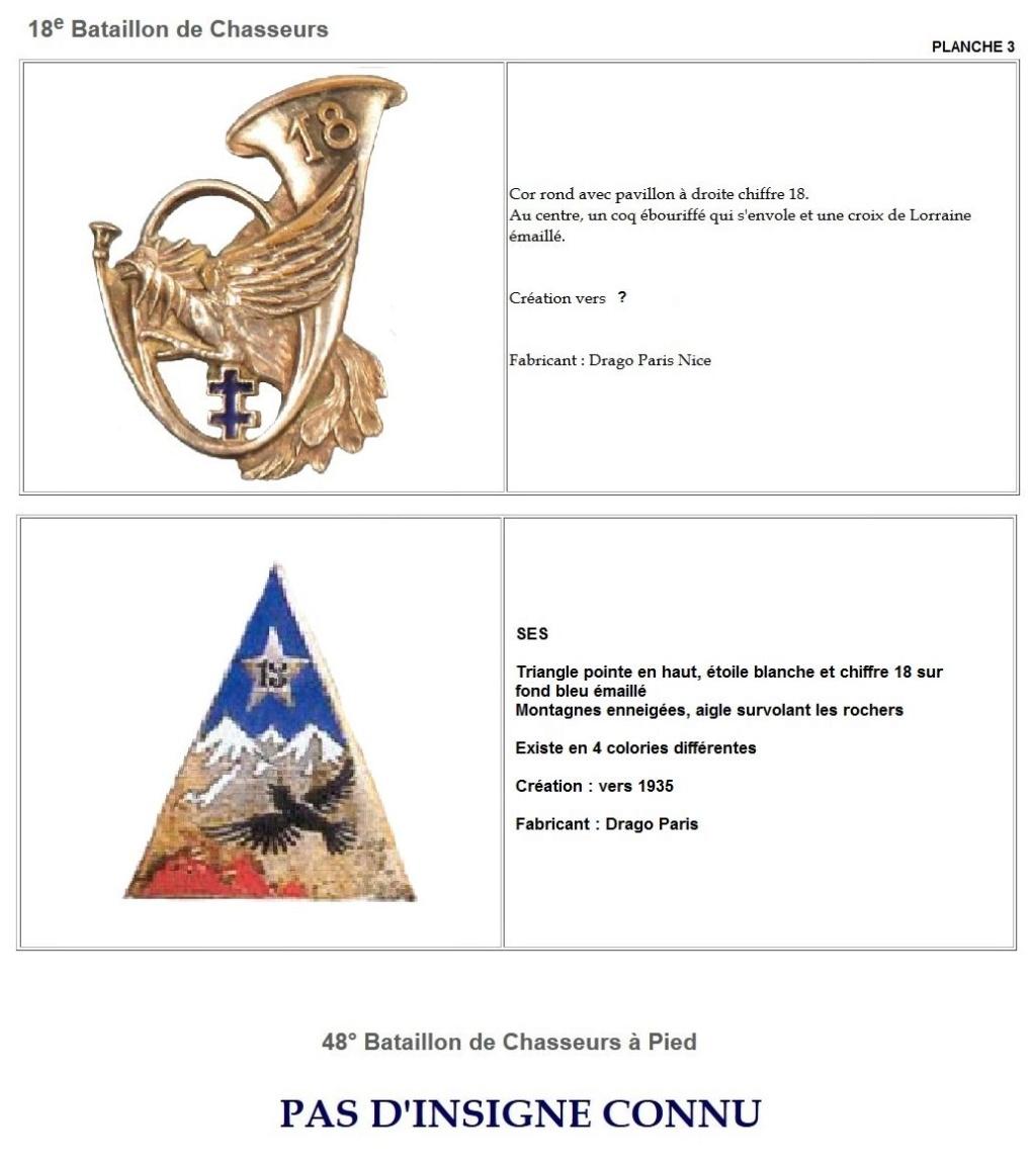 Les insignes de bataillons- Mise à jour... - Page 2 18e_pl10