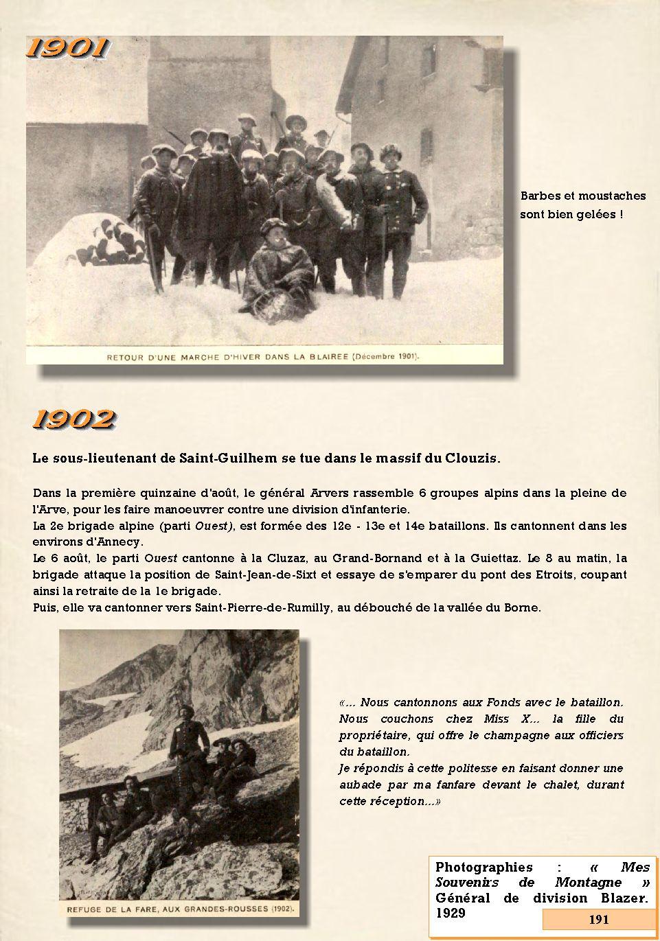 L'Historique du 14e Bataillon de Chasseurs. 1854 - 1962 191_pa10