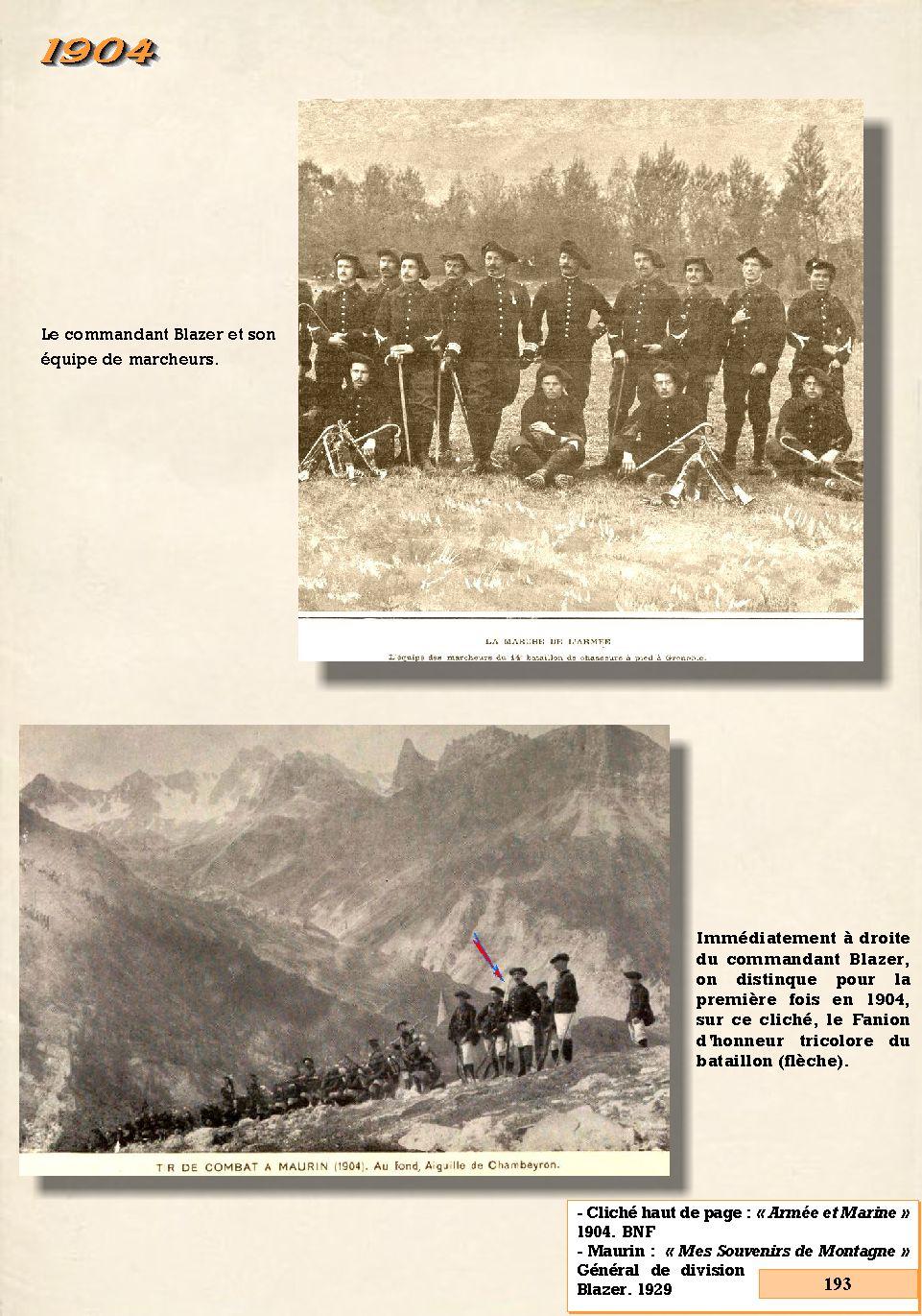 L'Historique du 14e Bataillon de Chasseurs. 1854 - 1962 193_pa10