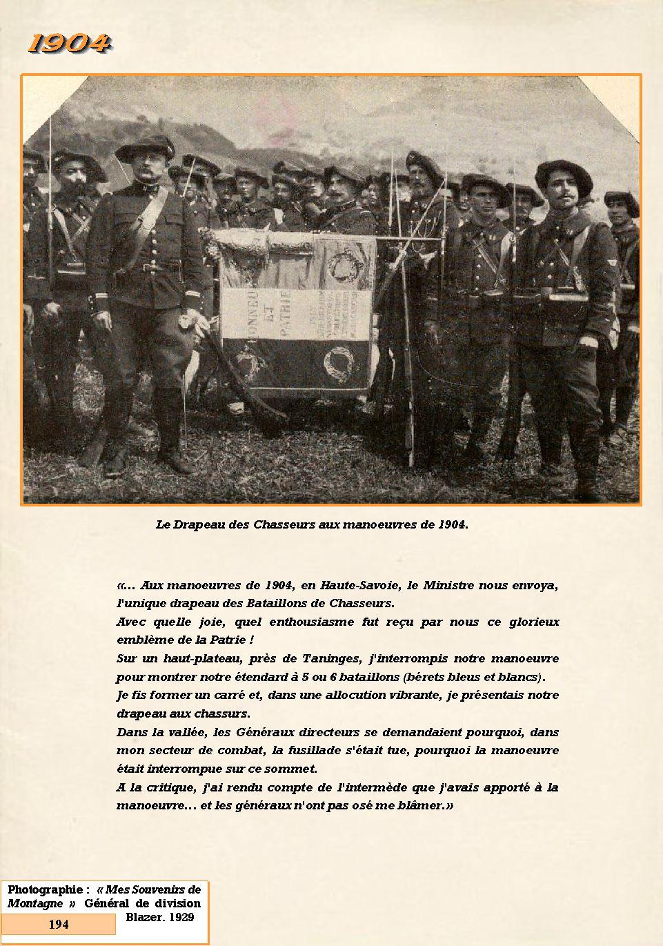 L'Historique du 14e Bataillon de Chasseurs. 1854 - 1962 194_pa10