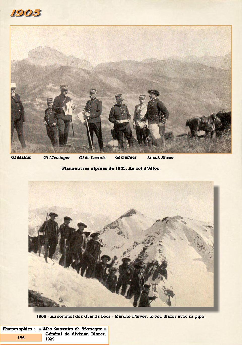 L'Historique du 14e Bataillon de Chasseurs. 1854 - 1962 196_pa10