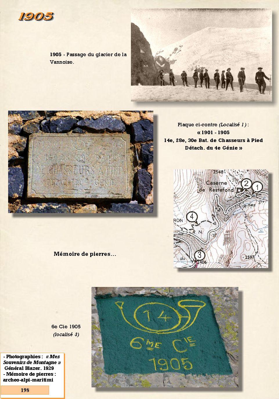 L'Historique du 14e Bataillon de Chasseurs. 1854 - 1962 198_pa10