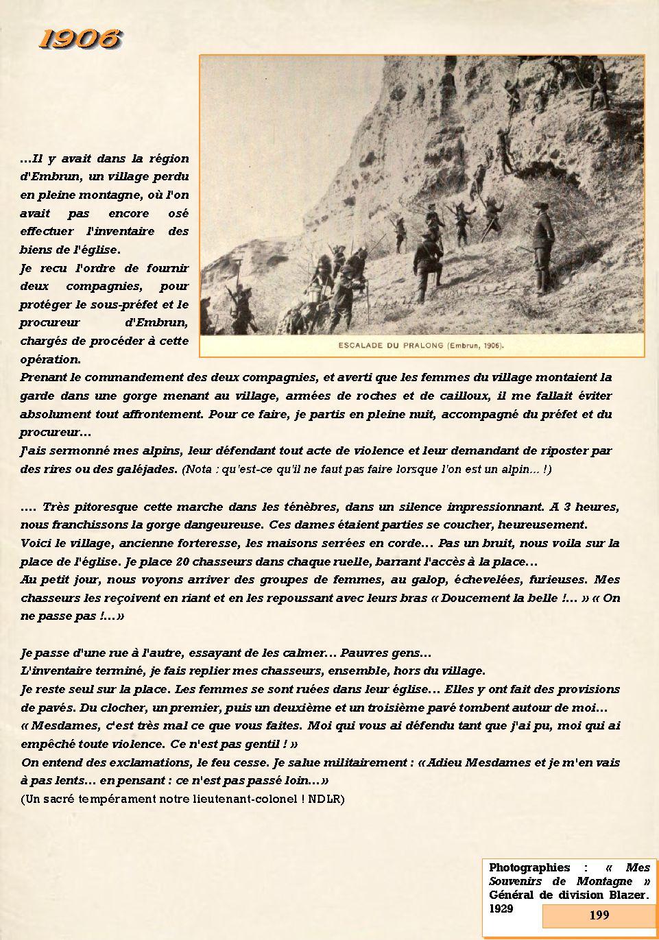 L'Historique du 14e Bataillon de Chasseurs. 1854 - 1962 199_pa10