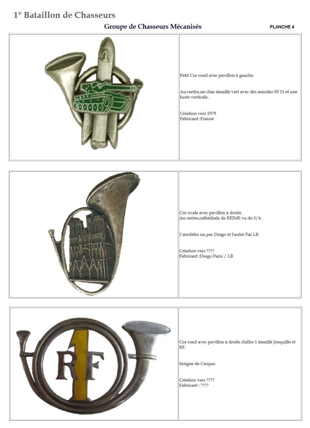 Les insignes de bataillons- Mise à jour... 1er_pl13