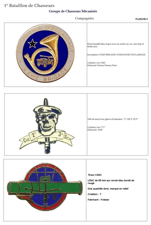 Les insignes de bataillons- Mise à jour... 1er_pl14