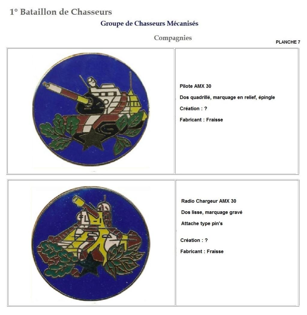 Les insignes de bataillons- Mise à jour... 1er_pl16