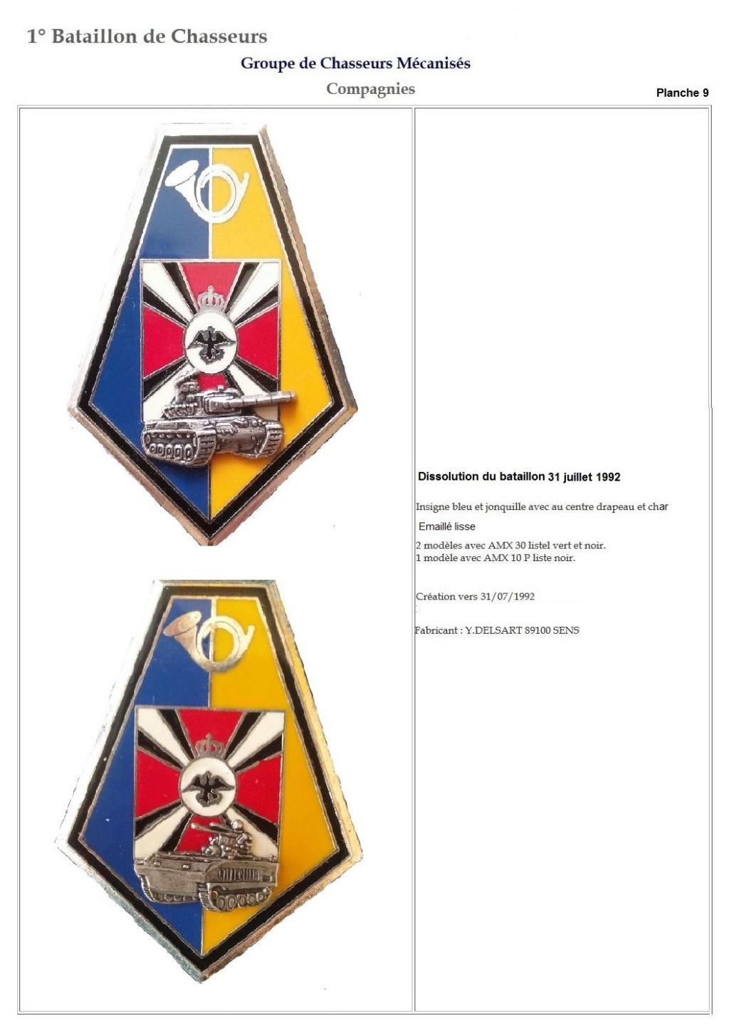 Les insignes de bataillons- Mise à jour... 1er_pl18