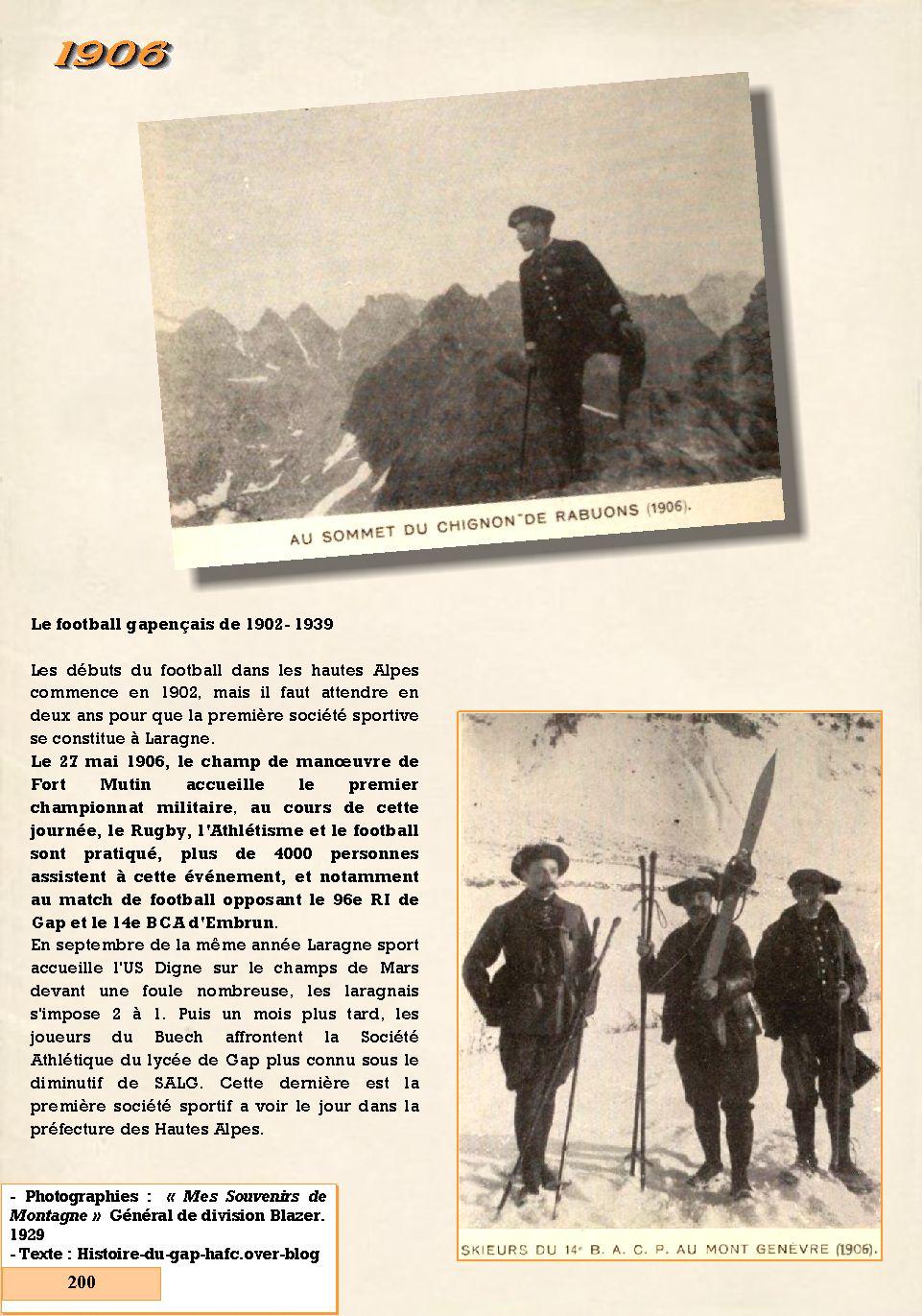 L'Historique du 14e Bataillon de Chasseurs. 1854 - 1962 200_pa10