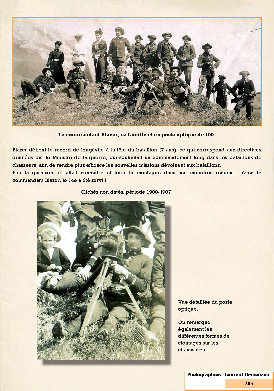L'Historique du 14e Bataillon de Chasseurs. 1854 - 1962 203_pa10