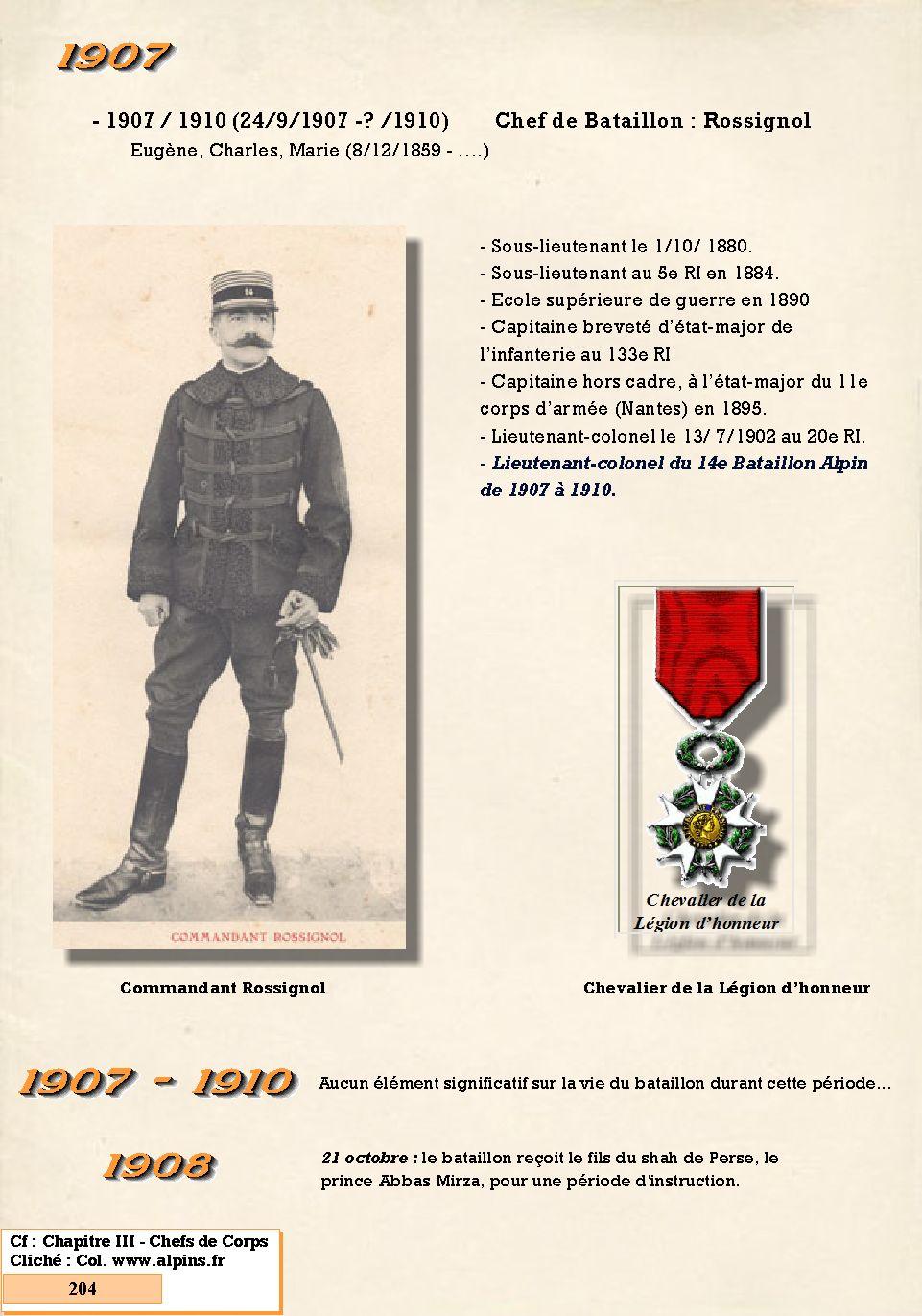 L'Historique du 14e Bataillon de Chasseurs. 1854 - 1962 204_pa10