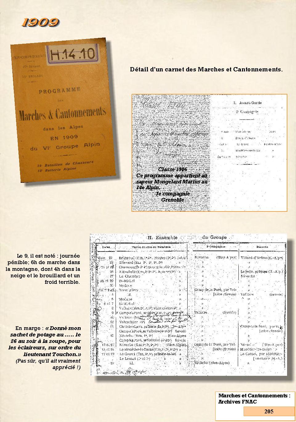 L'Historique du 14e Bataillon de Chasseurs. 1854 - 1962 205_pa10