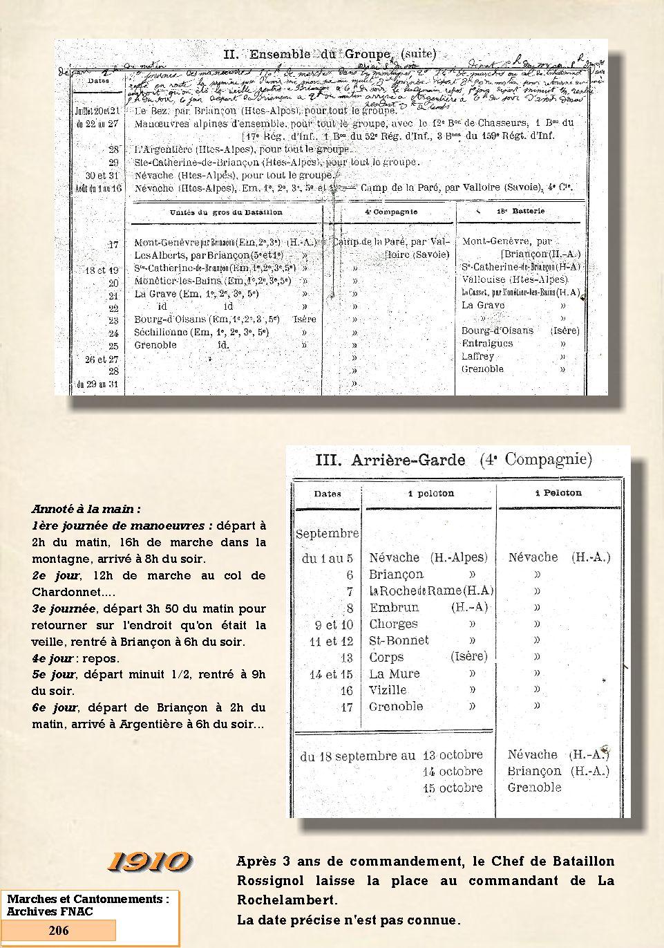 L'Historique du 14e Bataillon de Chasseurs. 1854 - 1962 206_pa10