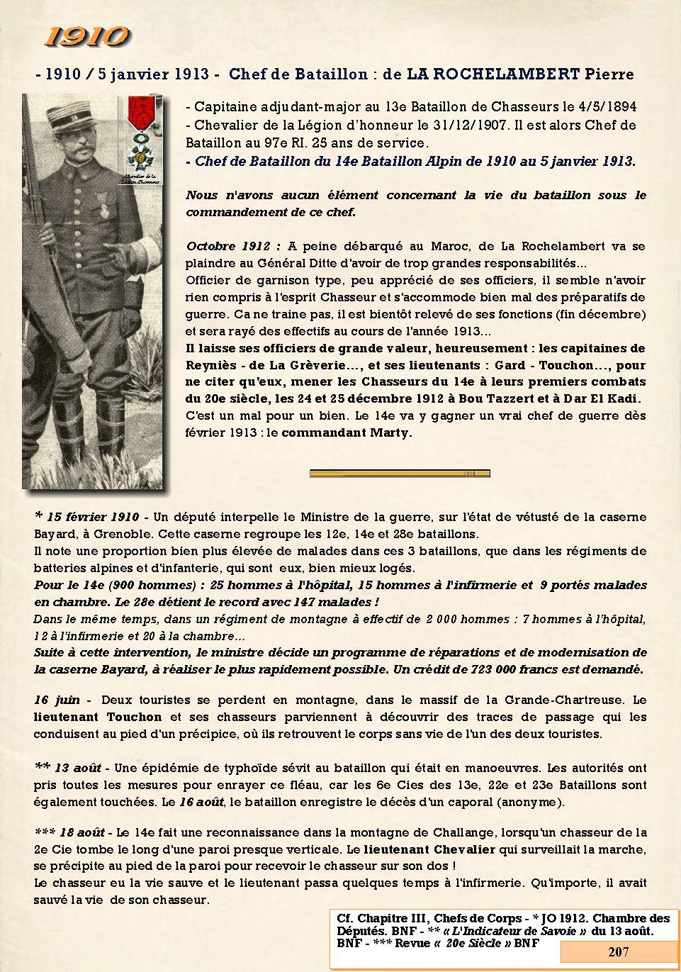 L'Historique du 14e Bataillon de Chasseurs. 1854 - 1962 207_pa10