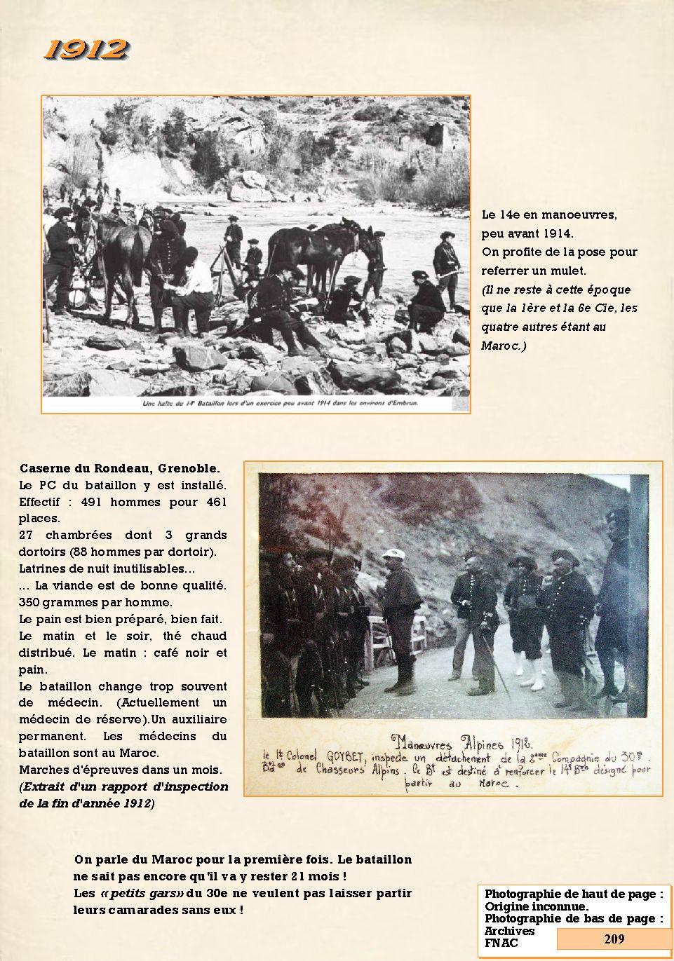 L'Historique du 14e Bataillon de Chasseurs. 1854 - 1962 209_pa10