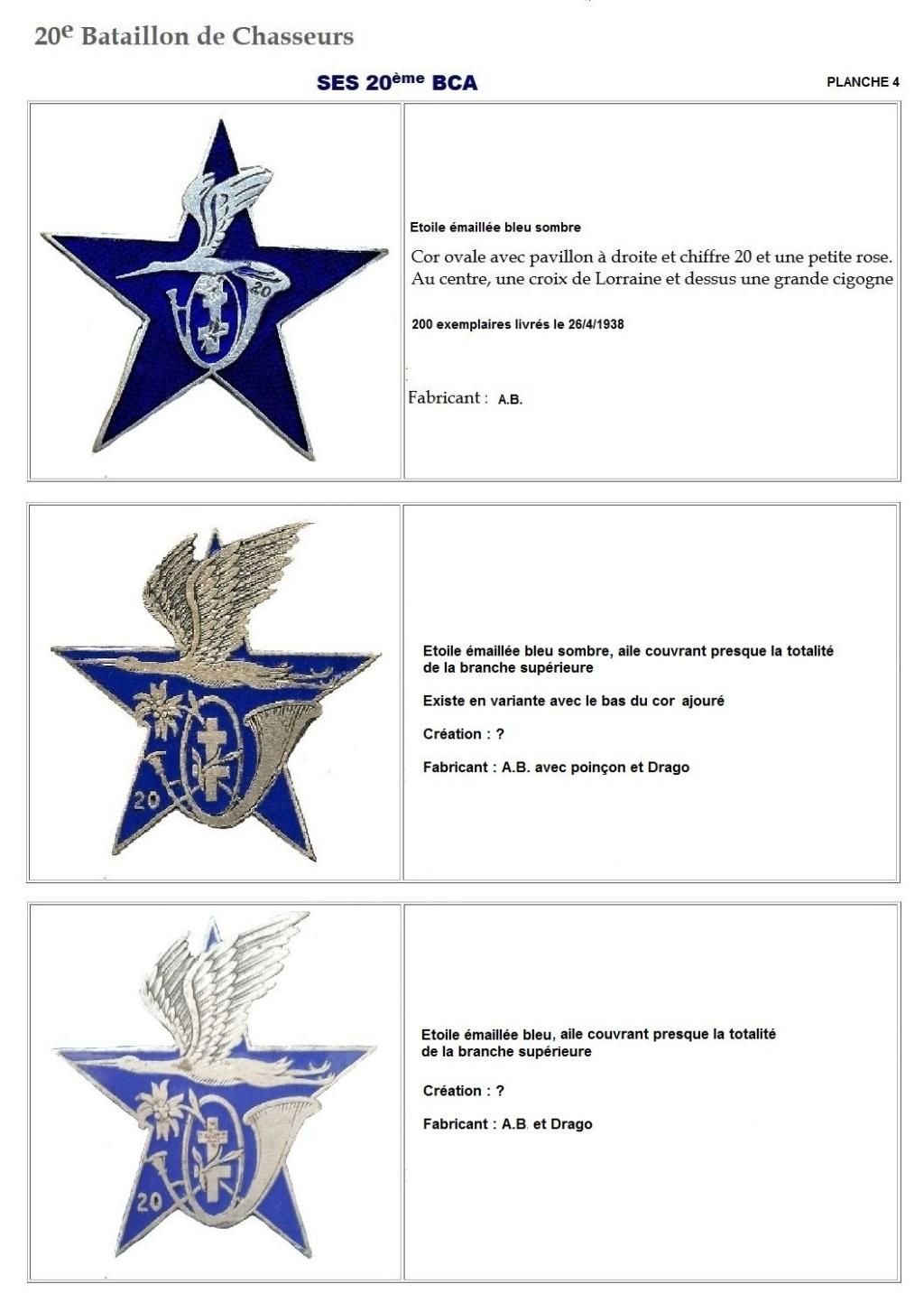 Les insignes de bataillons- Mise à jour... - Page 2 20e_pl14