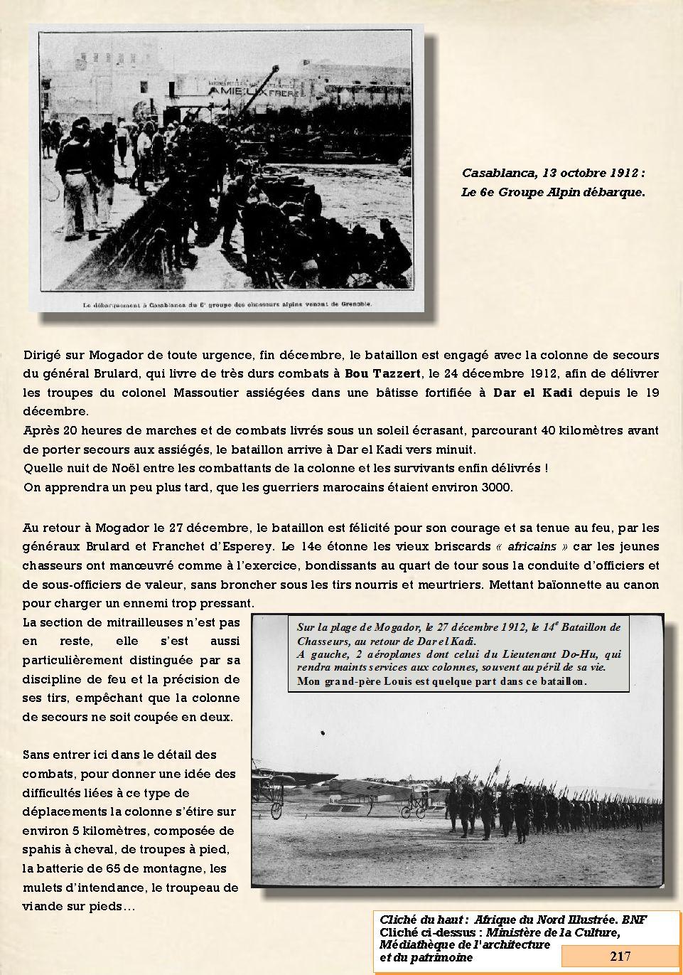 L'Historique du 14e Bataillon de Chasseurs. 1854 - 1962 217_pa10