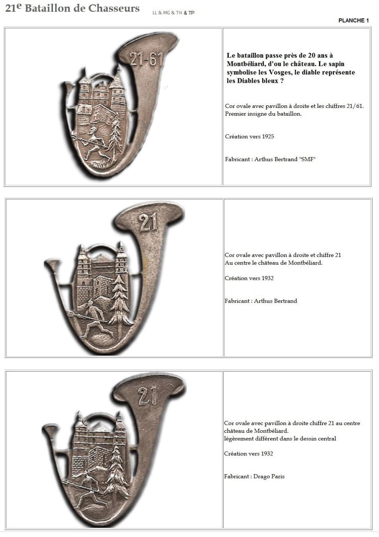 Les insignes de bataillons- Mise à jour... - Page 2 21e_pl10