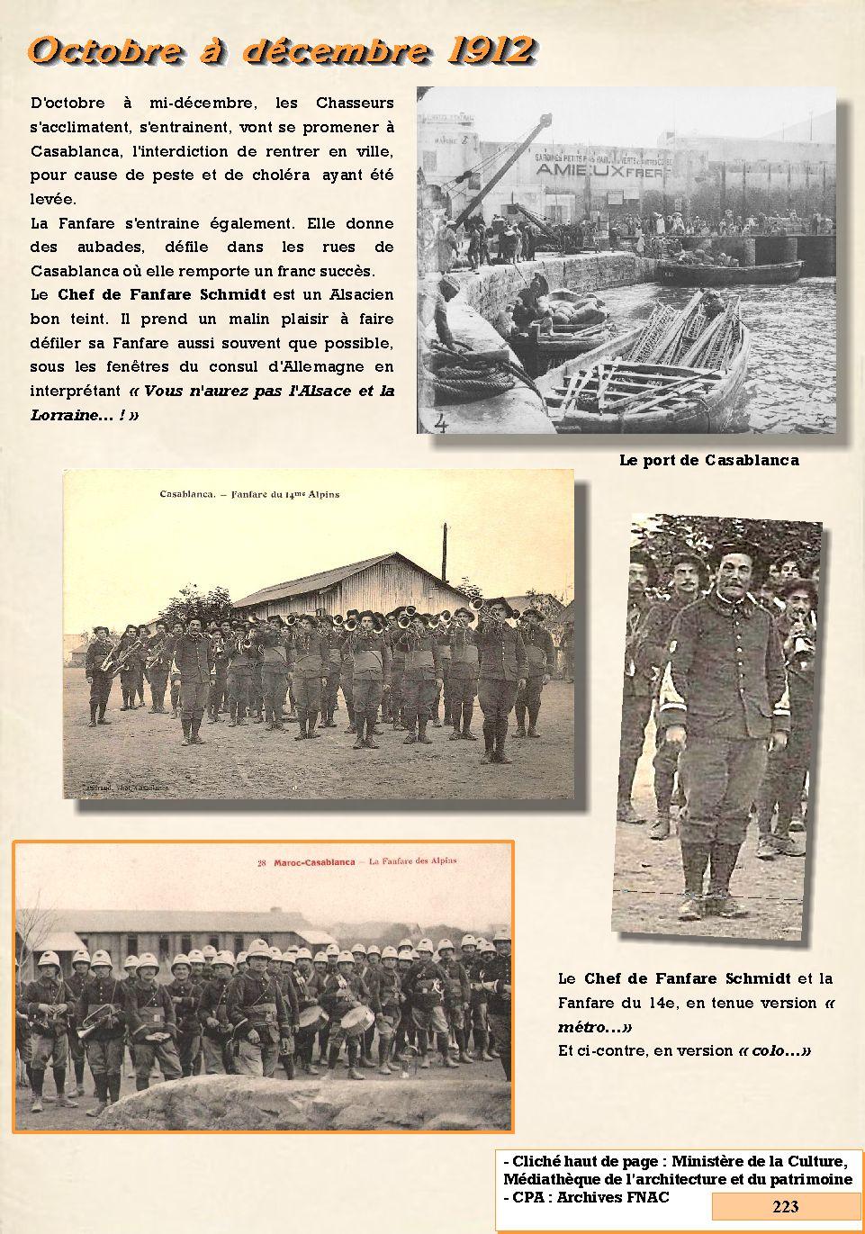 L'Historique du 14e Bataillon de Chasseurs. 1854 - 1962 223_pa10