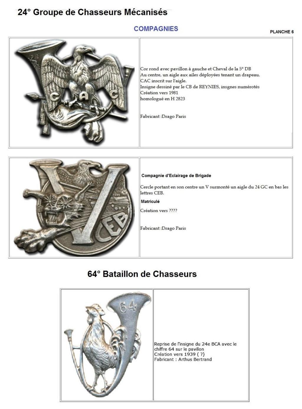 Les insignes de bataillons- Mise à jour... - Page 2 24e_pl15