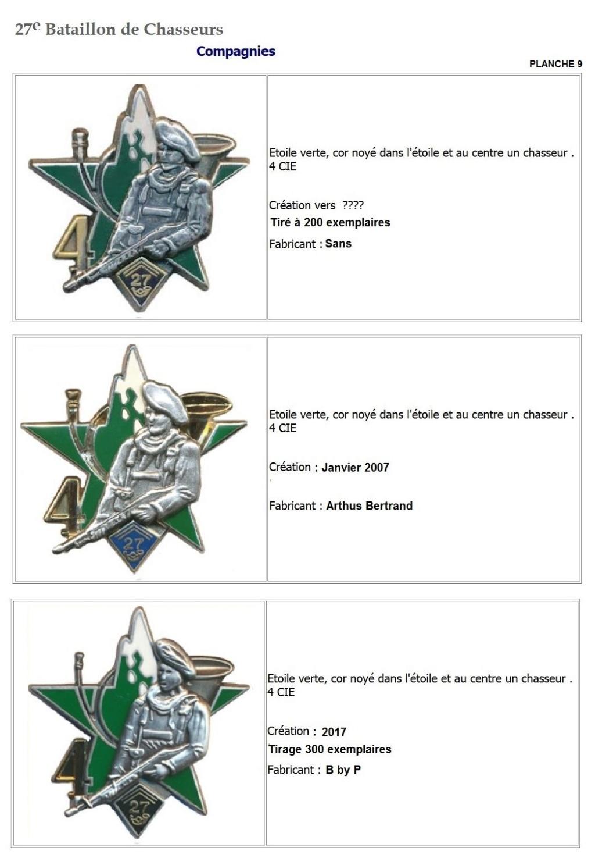 Les insignes de bataillons- Mise à jour... - Page 3 27e_pl16
