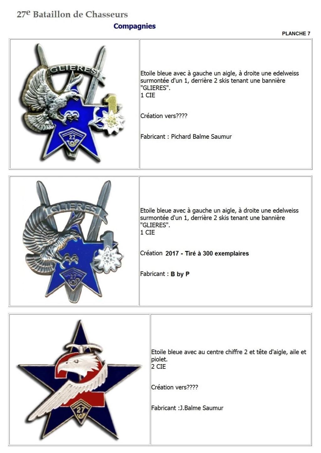 Les insignes de bataillons- Mise à jour... - Page 3 27e_pl17