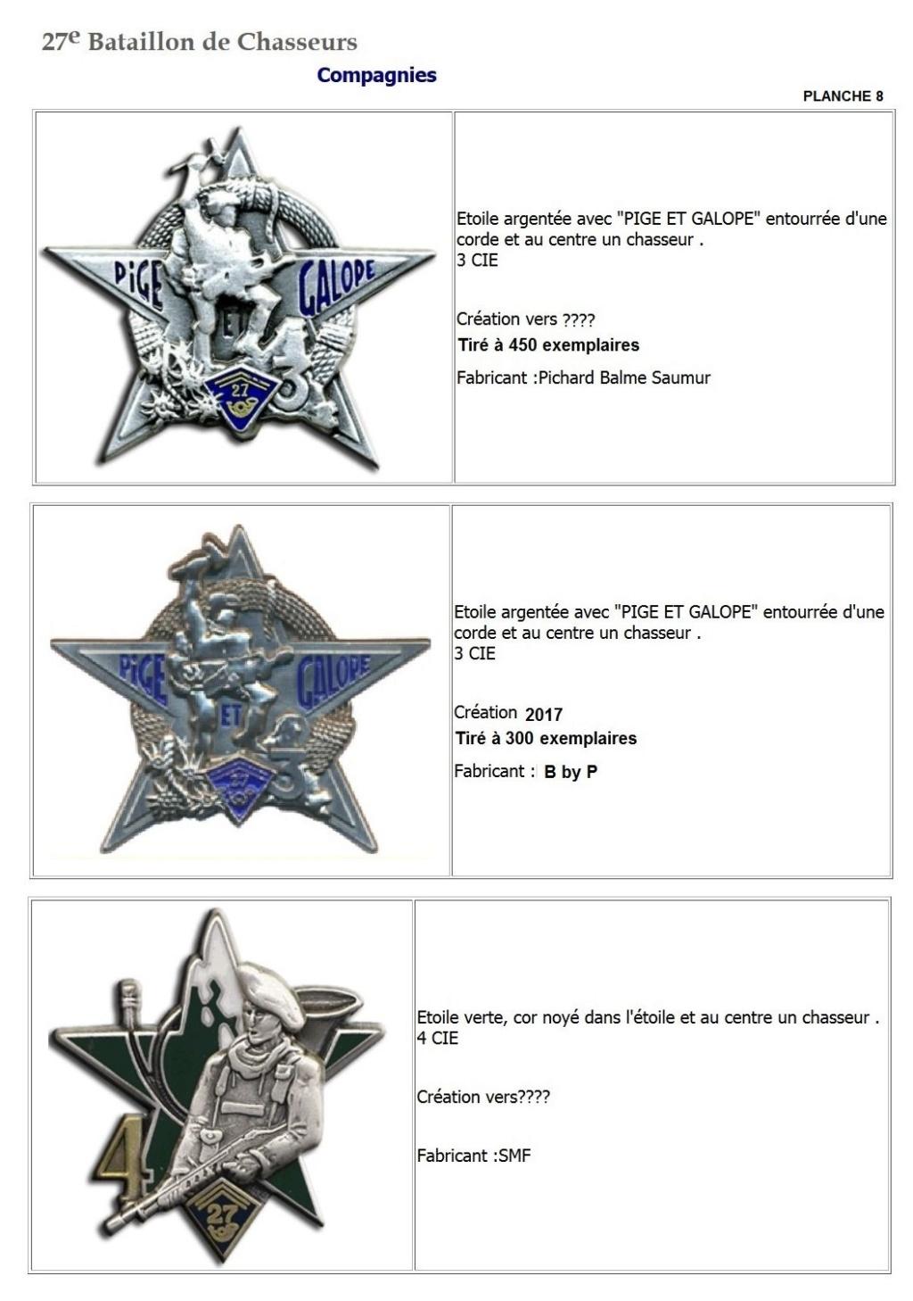 Les insignes de bataillons- Mise à jour... - Page 3 27e_pl18