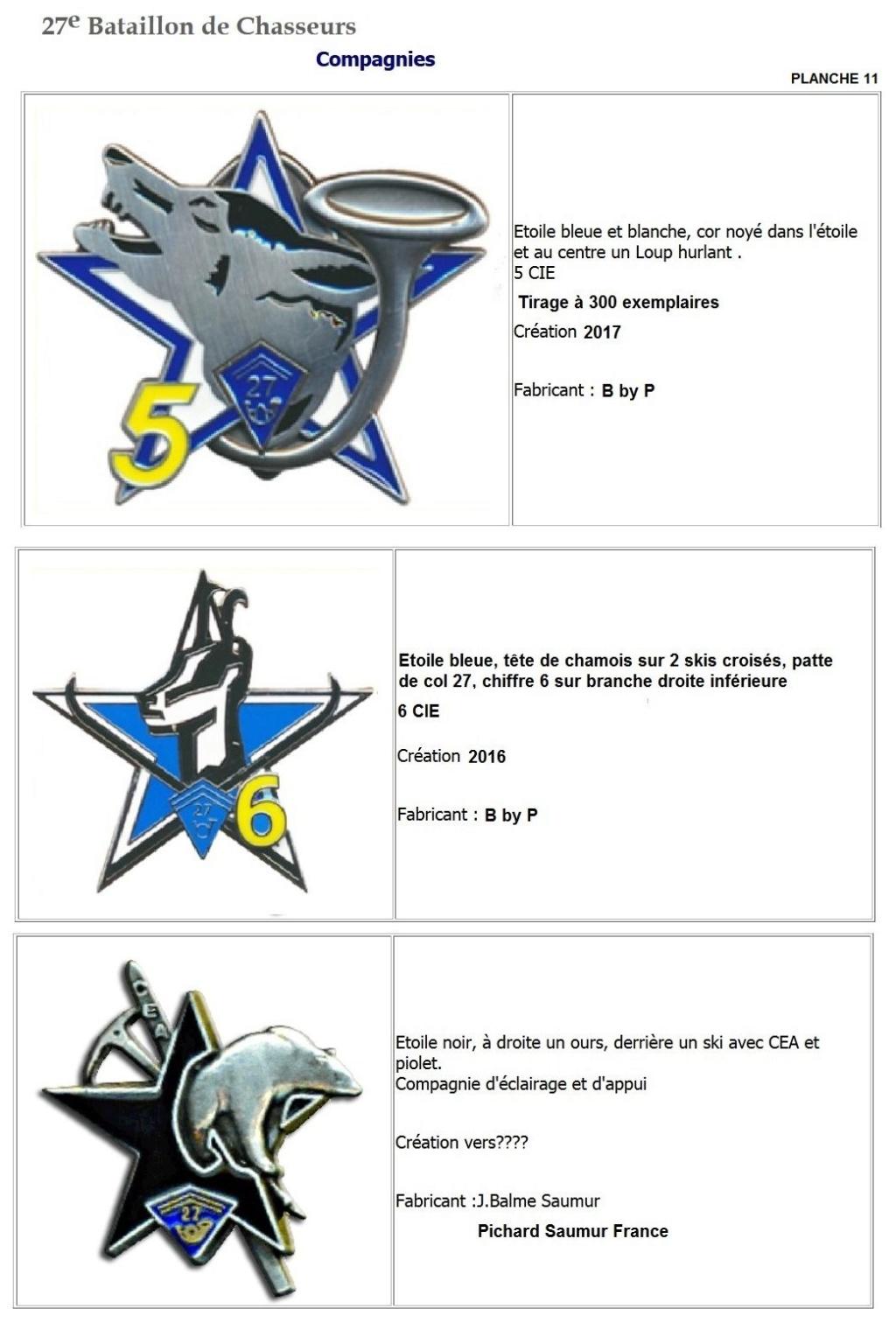 Les insignes de bataillons- Mise à jour... - Page 3 27e_pl19