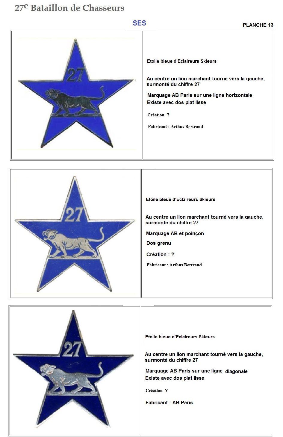 Les insignes de bataillons- Mise à jour... - Page 3 27e_pl22