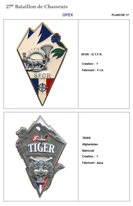 Les insignes de bataillons- Mise à jour... - Page 3 27e_pl25