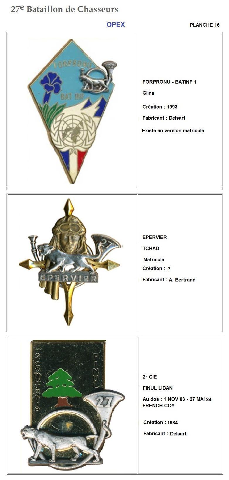 Les insignes de bataillons- Mise à jour... - Page 3 27e_pl26