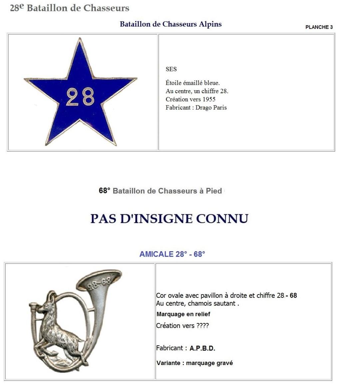 Les insignes de bataillons- Mise à jour... - Page 3 28e_pl10