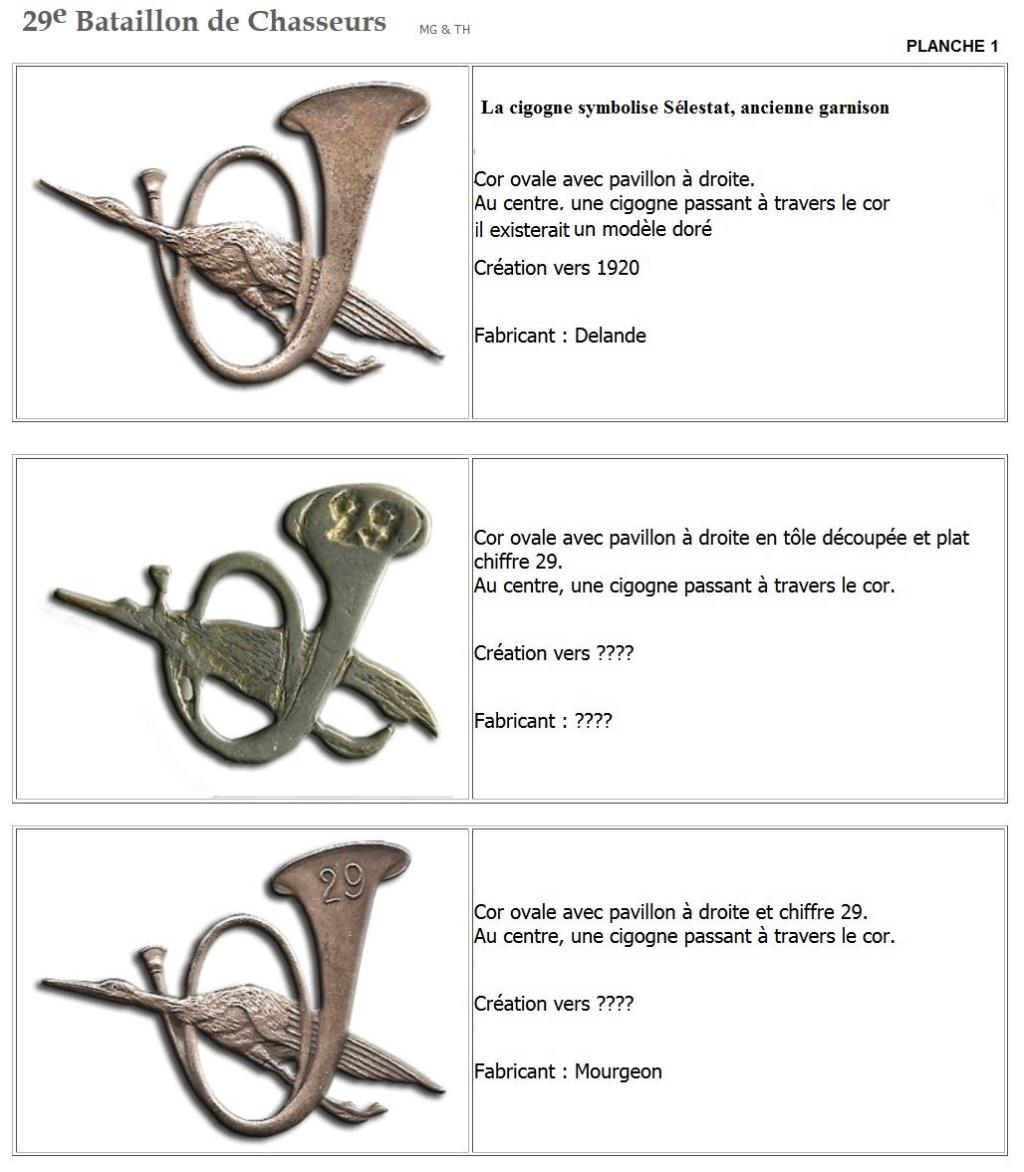 Les insignes de bataillons- Mise à jour... - Page 3 29e_pl10