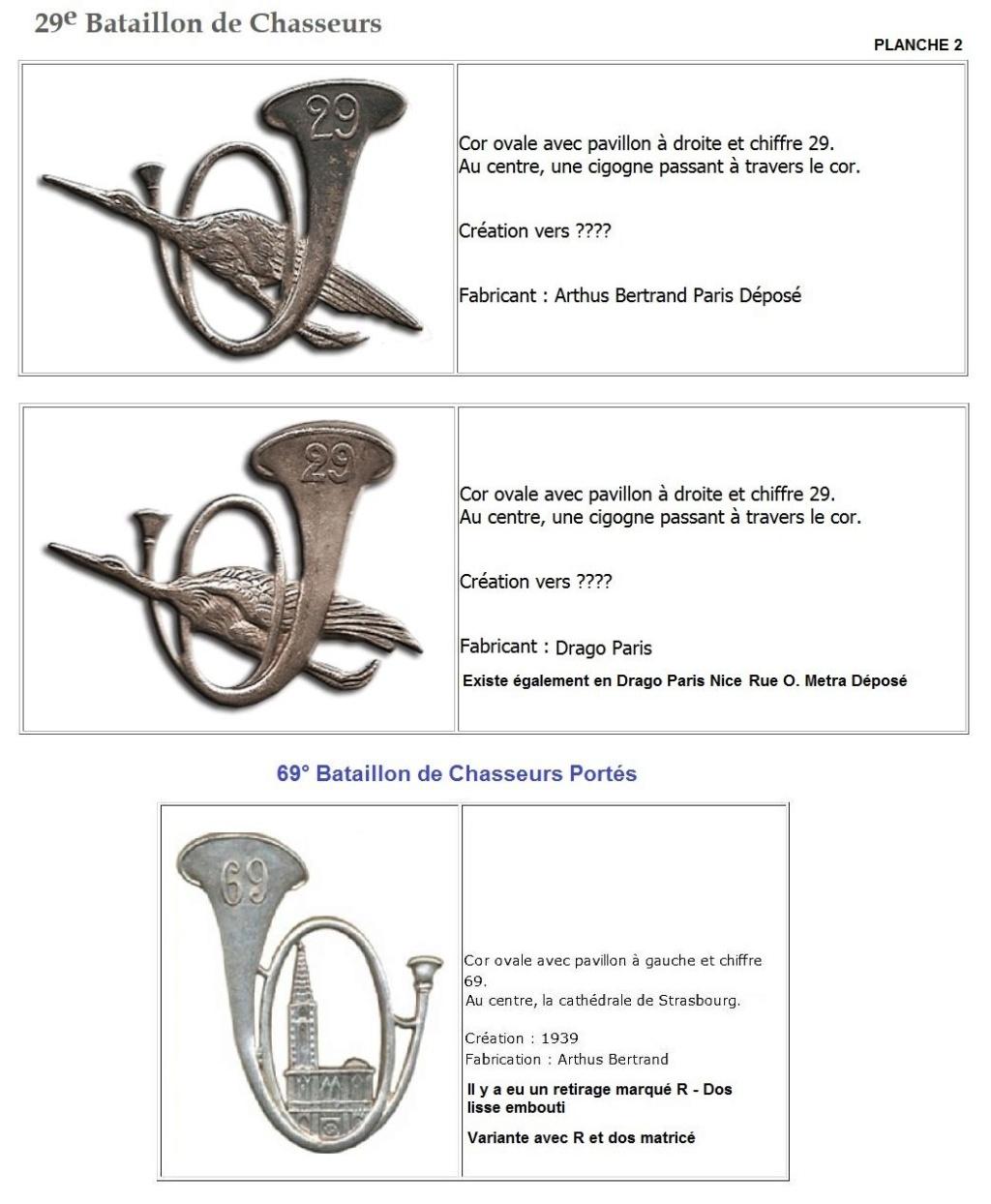 Les insignes de bataillons- Mise à jour... - Page 3 29e_pl11