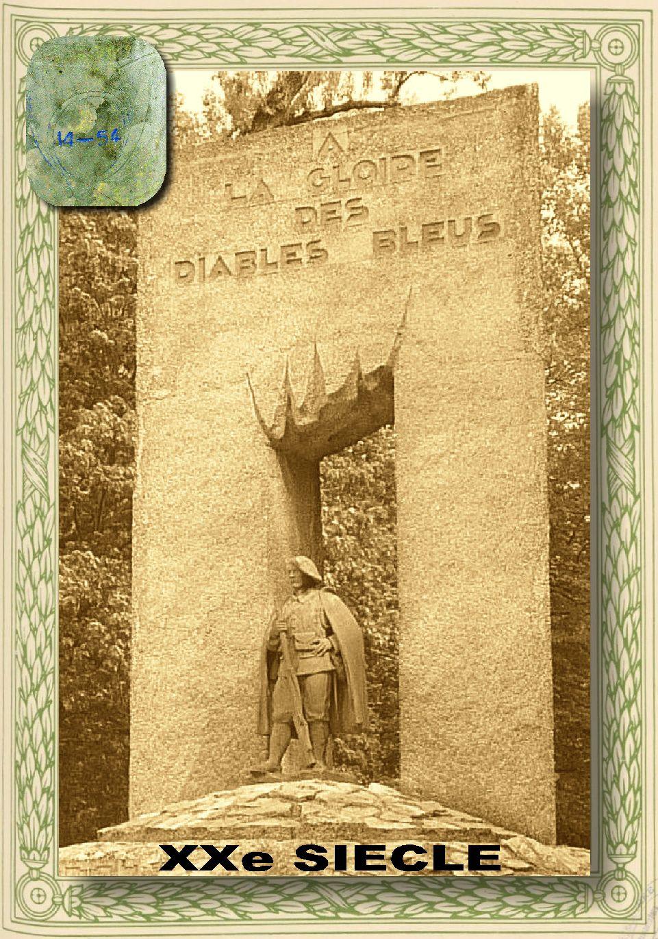 L'Historique du 14e Bataillon de Chasseurs. 1854 - 1962 2_couv10