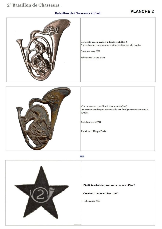Les insignes de bataillons- Mise à jour... 2e_pla11