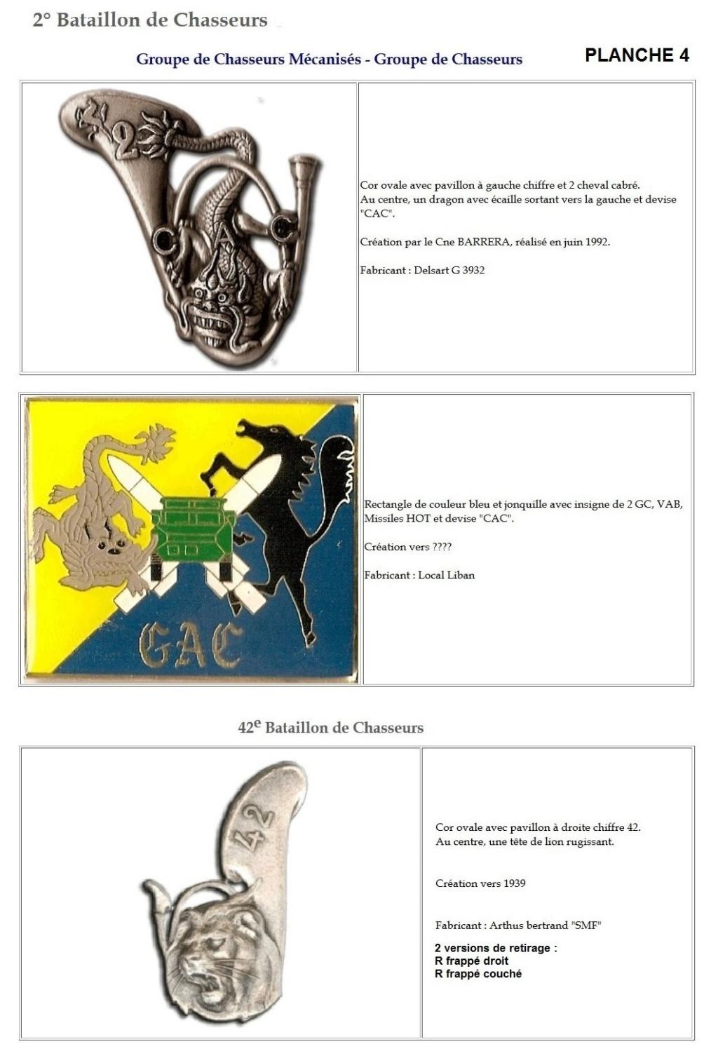 Les insignes de bataillons- Mise à jour... 2e_pla13