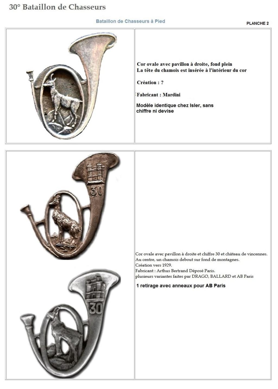 Les insignes de bataillons- Mise à jour... - Page 3 30e_pl10