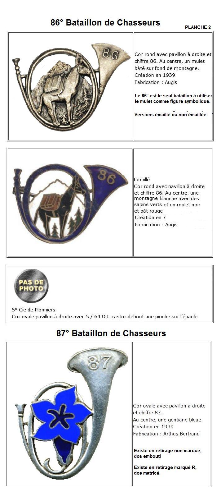 Les insignes de bataillons- Mise à jour... - Page 3 32e_au20