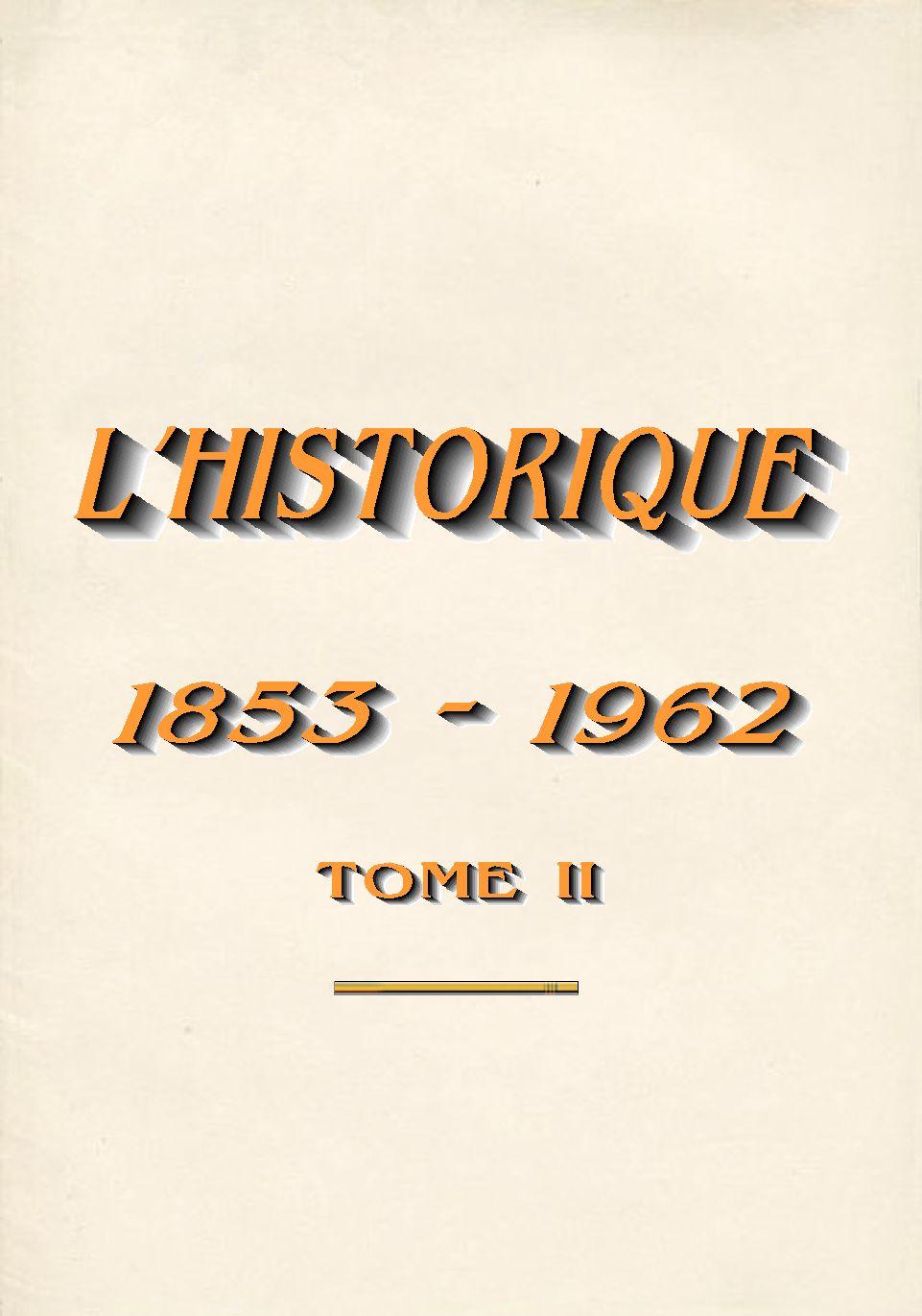 L'Historique du 14e Bataillon de Chasseurs. 1854 - 1962 3_titr10