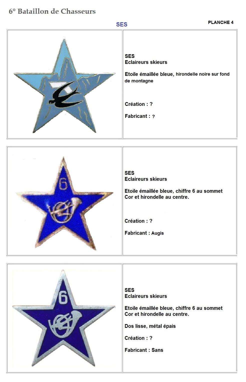 Les insignes de bataillons- Mise à jour... 6e_pla14