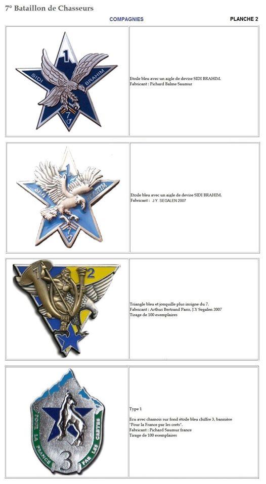 Les insignes de bataillons- Mise à jour... 7e_pla12