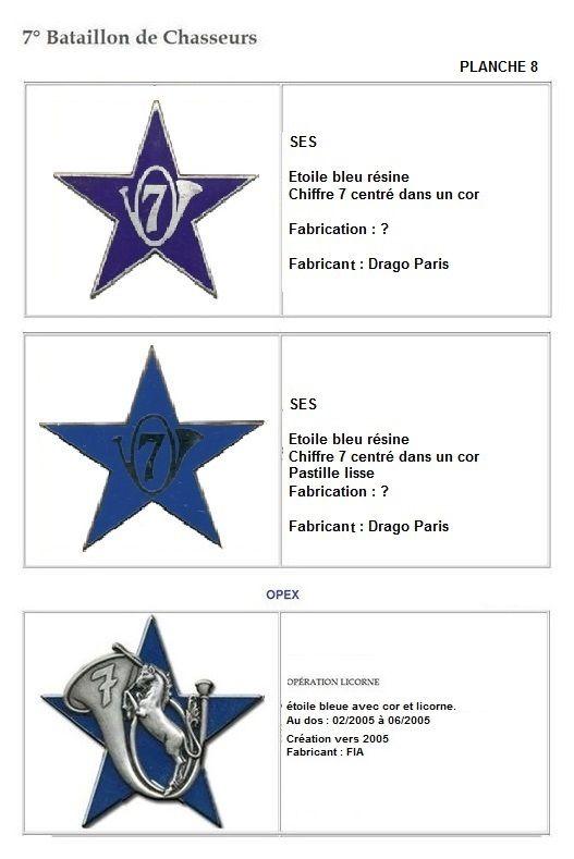 Les insignes de bataillons- Mise à jour... 7e_pla16