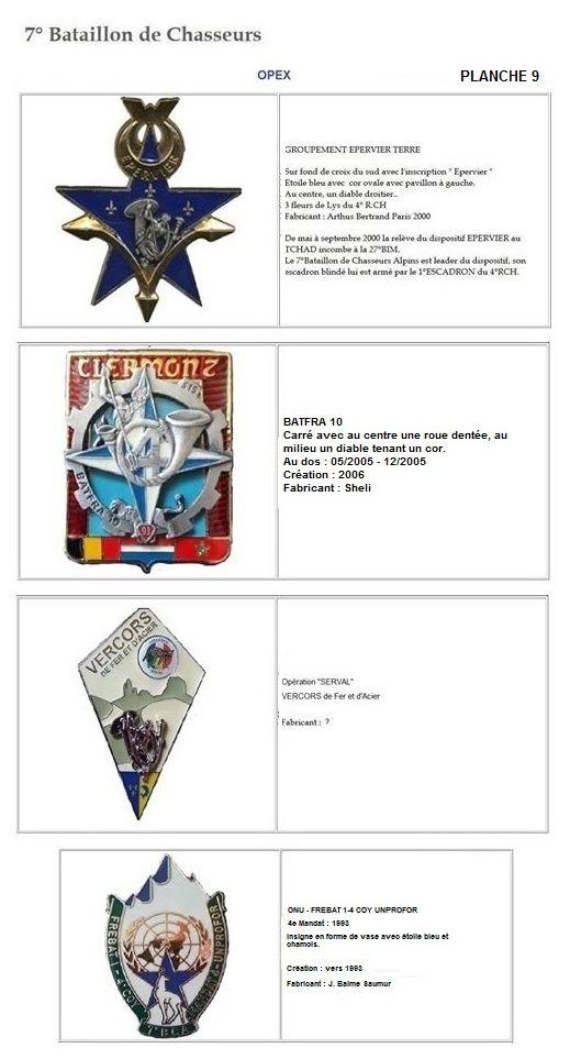 Les insignes de bataillons- Mise à jour... 7e_pla18