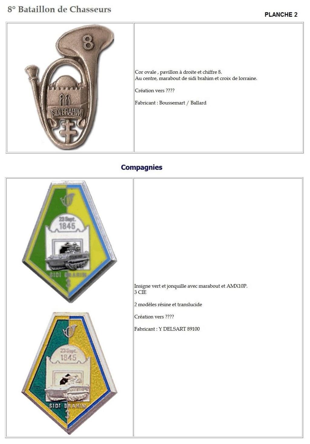 Les insignes de bataillons- Mise à jour... 8e_pla12